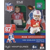 OYO New England Patriots Rob Gronkowski Throwback G1LE Series 2 Minifigure