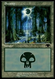 Magic the Gathering Promo Single GURU Swamp - NEAR MINT (NM)