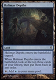 Magic the Gathering Worldwake Single Halimar Depths FOIL - NEAR MINT (NM)