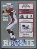 2010 Playoff Contenders #169 Max Hall /401 Rookie Autograph