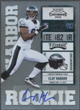 2010 Playoff Contenders #117 Clay Harbor Rookie Autograph