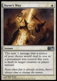 Magic the Gathering 2010 Single Harm's Way Foil