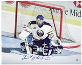 Dominik Hasek Autographed Buffalo Sabres 16x20 Hockey Photo (Frozen Pond COA)