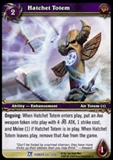 WoW Fields of Honor Single Hatchet Totem