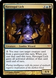 Magic the Gathering Dark Ascension Single Havengul Lich UNPLAYED (NM/MT)