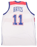 "Elvin Hayes Autographed Washington Bullets Jersey w/""HOF90"" Inscription (PSA)"