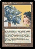 Magic the Gathering Alliances Single Helm of Obedience MODERATE PLAY (MP)
