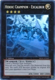 Yu-Gi-Oh Return of the Duelist Single Heroic Champion - Excalibur Ghost Rare