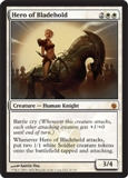 Magic the Gathering Mirrodin Besieged Single Hero of Bladehold - NEAR MINT (NM)