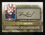 2012/13 In the Game Between The Pipes Autographs #ADH Denis Herron DEC Autograph