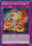 Yu-Gi-Oh Galactic Overlord Single Hieratic Seal From The Ashes Secret Rare