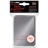 Ultra Pro Yu-Gi-Oh! Size Hi-Gloss Silver Deck Protectors (50 Count Pack)