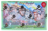 2013 Historic Autograph Art of Baseball Hobby Box