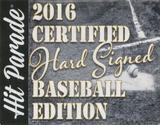 2016 Hit Parade Baseball Certified Hard Signed Edition Hobby - 2 Autographs/Box - Mantle/DiMaggio/Williams!!
