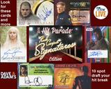 2016 Hit Parade Red Carpet Signatures 10 Box Case- DACW Live @ National 10 Spot Draft Break