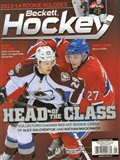 2015 Beckett Hockey Monthly Price Guide (#269 Janruary) (Head of the Class)