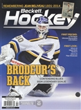 2015 Beckett Hockey Monthly Price Guide (#270 February) (Brodeur's Back)