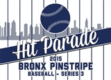 2015 Hit Parade Baseball Series 3: Bronx Pinstripe Edition Pack (6 Hits per Pack)