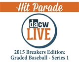 Image for 2015 Hit Parade Breakers Edition: Graded Baseball Series 1
