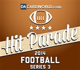 2014 Hit Parade Football Series 3 Pack