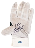Hanley Ramirez Autographed and Game Used Batting Glove with Inscription