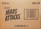 Mars Attacks Heritage Trading Cards 8-Box Case (Topps 2012)