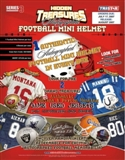 2008 TriStar Hidden Treasures Series 3 Auto Mini Football Helmet Box