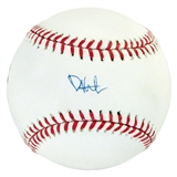 Phil Hughes Autographed Official Major League Baseball (Steiner COA)