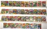 Incredible Hulk Lot many issues from 102 - 193 includes first Missing Link, first Glob
