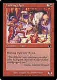 Magic the Gathering Urza's Destiny Single Hulking Ogre Foil