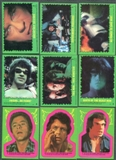 Incredible Hulk 1979 Topps 88 Card Set + 22 Sticker Set