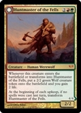 Magic the Gathering Dark Ascension Single Huntmaster of the Fells LIGHT PLAY (NM)