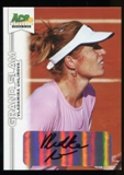 2013 Leaf Ace Authentic Grand Slam #BAVU1 Vladamira Uhlirova UER Autograph