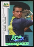 2013 Leaf Ace Authentic Grand Slam #BAMY1 Mikhail Youzhny Autograph