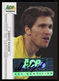 2013 Leaf Ace Authentic Grand Slam #BAMZ1 Mischa Zverev Autograph