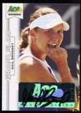 2013 Leaf Ace Authentic Grand Slam #BAGB1 Gail Brodsky Autograph
