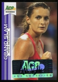 2013 Leaf Ace Authentic Grand Slam Purple #BAIB1 Iveta Benesova Autograph 3/25
