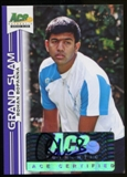 2013 Leaf Ace Authentic Grand Slam Purple #BARB2 Rohan Bopanna Autograph 16/25