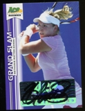 2013 Leaf Ace Authentic Grand Slam Purple #BABMS Bethanie Mattek-Sands Autograph 20/25