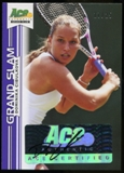 2013 Leaf Ace Authentic Grand Slam Purple #BADC1 Dominika Cibulkova Autograph 17/25