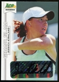 2013 Leaf Ace Authentic Grand Slam #BAJK1 Jessica Kirkland Autograph