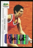2013 Leaf Ace Authentic Grand Slam #BAJW1 Jasmin Woehr Autograph