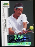 2013 Leaf Ace Authentic Grand Slam #BAJW2 Jimmy Wang Autograph