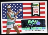2013 Leaf Ace Authentic Grand Slam National Pride Autographs #NPAH1 Ashley Harkleroad Autograph