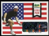 2013 Leaf Ace Authentic Grand Slam National Pride Autographs #NPDM1 David Martin Autograph