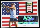 2013 Leaf Ace Authentic Grand Slam National Pride Autographs #NPJC2 Jill Craybas Autograph