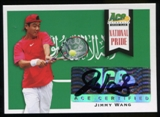 2013 Leaf Ace Authentic Grand Slam National Pride Autographs #NPJW2 Jimmy Wang Autograph