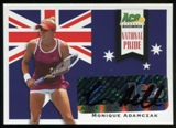 2013 Leaf Ace Authentic Grand Slam National Pride Autographs #NPMA1 Monique Adamczak Autograph