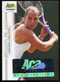 2013 Leaf Ace Authentic Grand Slam #BADC1 Dominika Cibulkova Autograph