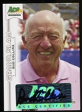2013 Leaf Ace Authentic Grand Slam #BABC1 Bud Collins Autograph